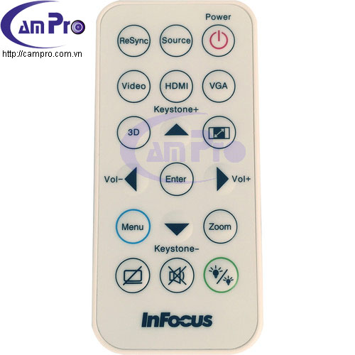 infocus-in112xv-remote